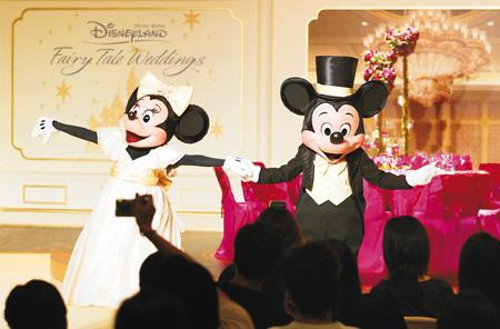 SPD3159 SPD 3159Hong Kong Theme Parks Wedding Package Of Hong Kong Disneyland