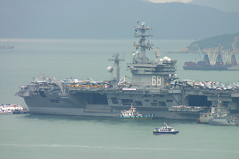 Welcoming the US Navy to Hong Kong - SkyscraperCity